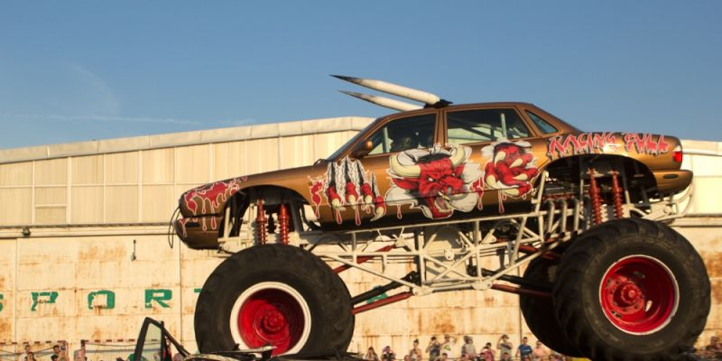 American Monster Truck na Bemowie