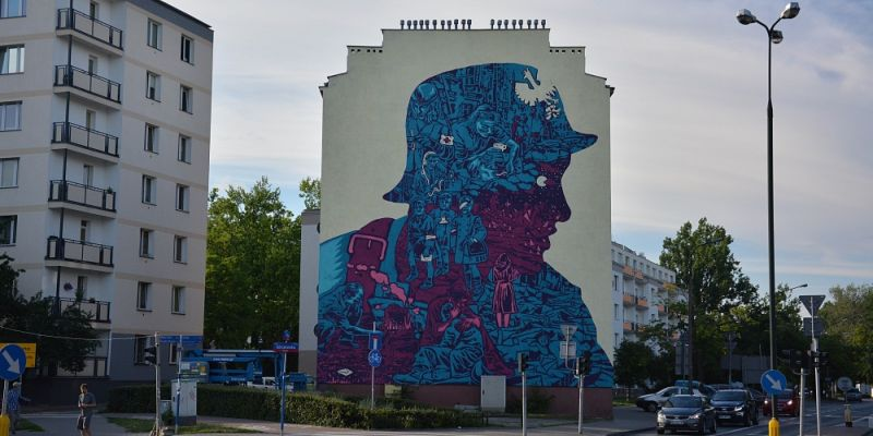 Informator stolicy mural na woli ju powsta for Mural ursynow