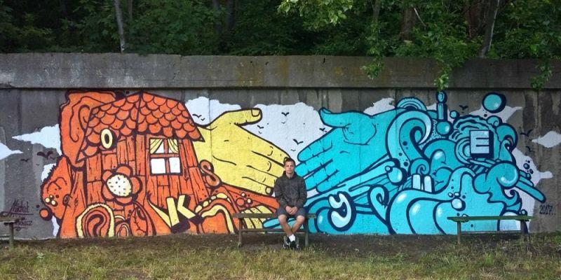 Informator stolicy nowy mural na gdy skim oksywiu for Mural ursynow